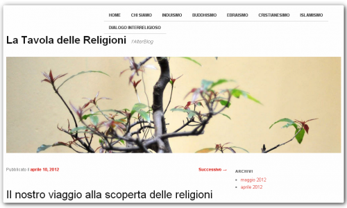 La Tavola delle Religioni